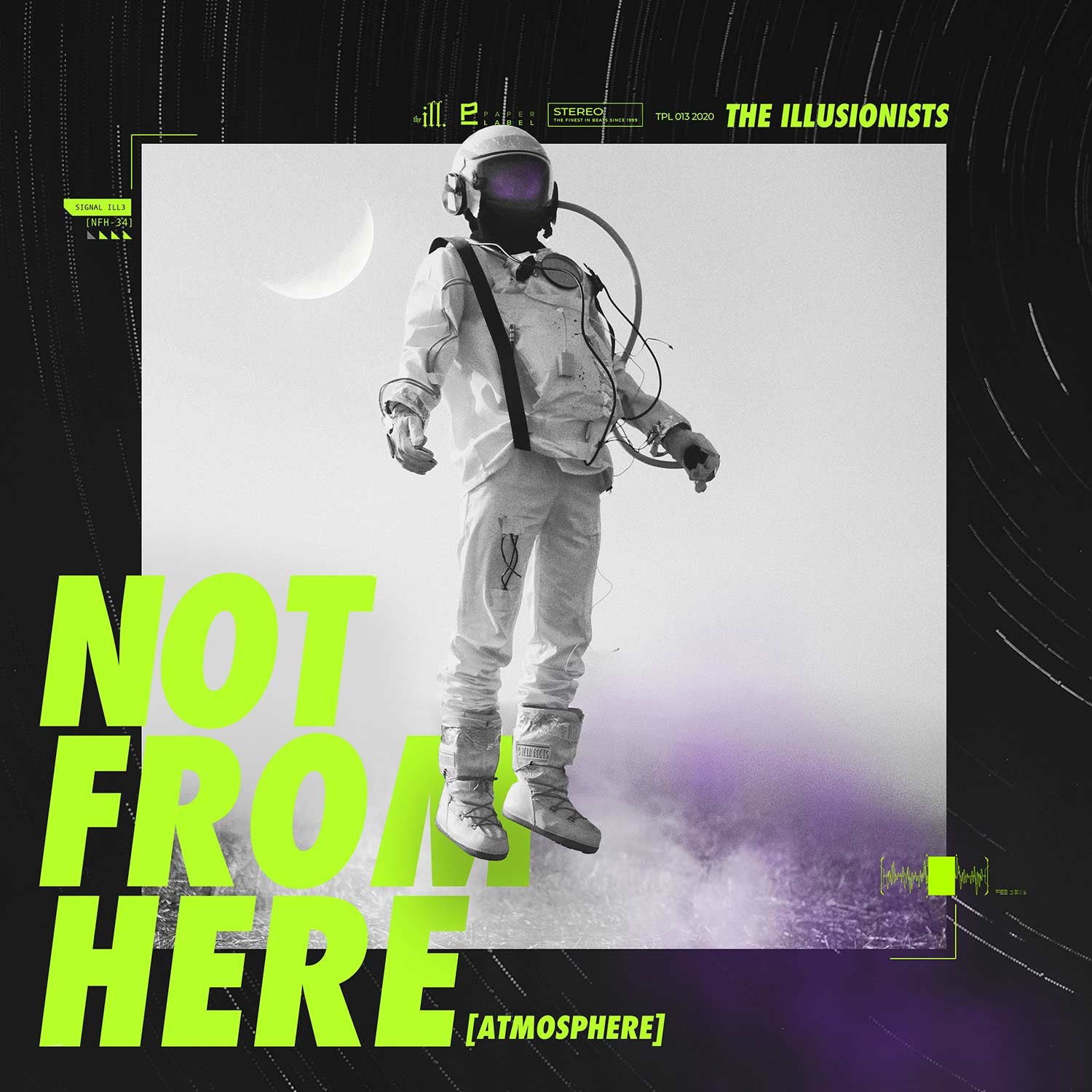 "The Illusionists ""Not from Here"" Single Cover Art"