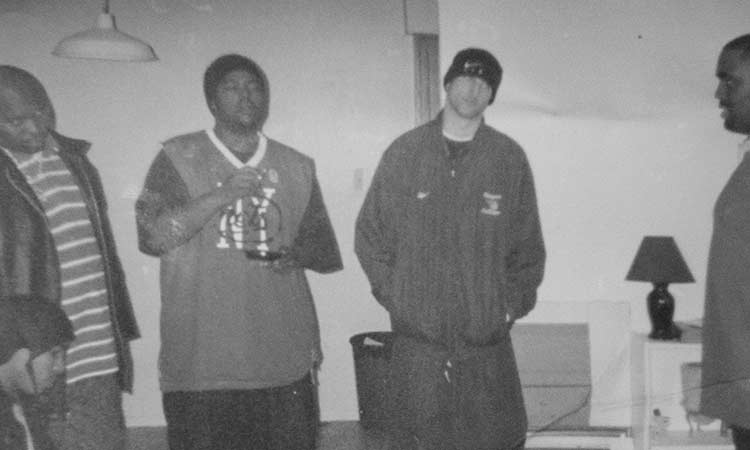 KD Tha Produce Man (Middle Left) and The Kid Flames (Middle Right) Circa 1999, before we knew what we'd become.