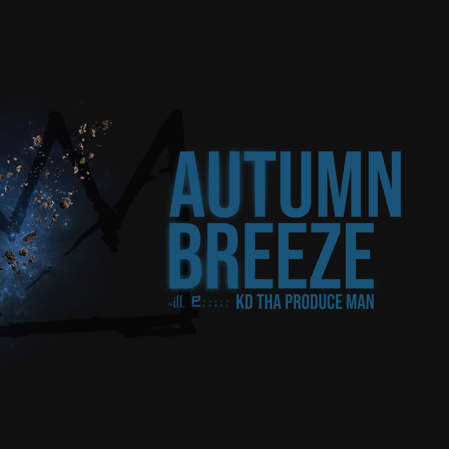 K.D. Tha Produce Man Autumn Breeze Cover, Artwork by The Kid Flames for The Paper Label